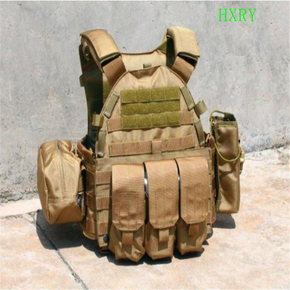 1000d Nylon Westen Style Swat Anti-Bullet Tactical Vest