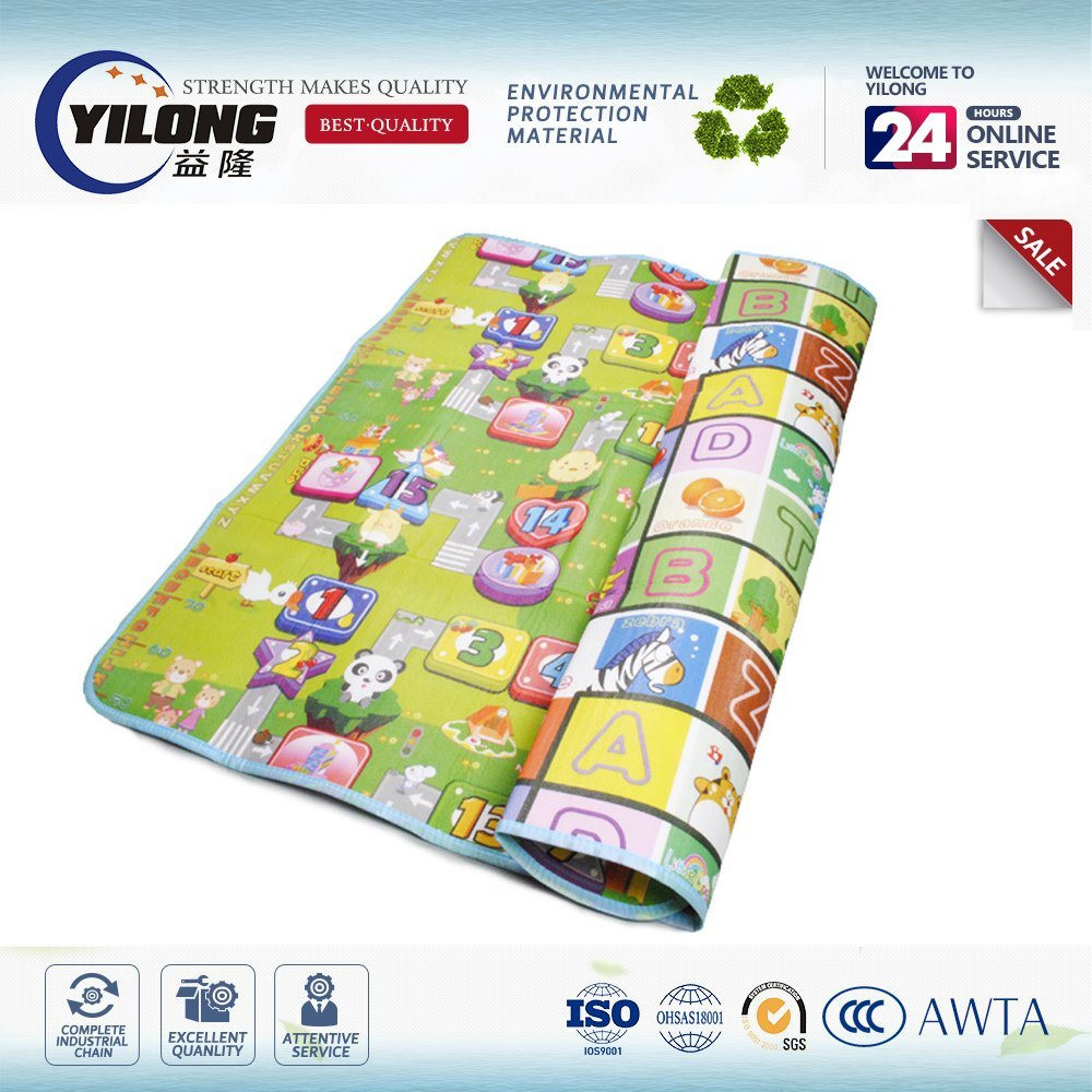 2017 Cute Animal Design Baby Play Mats