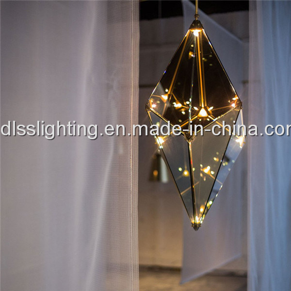 Innovative LED Glass Diamond Maxhedron Light Pendant Lighting