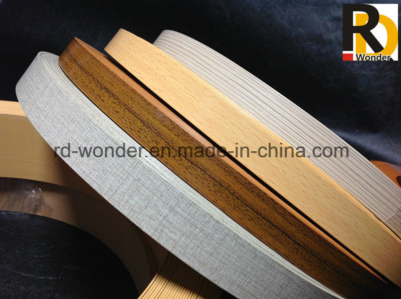Wood Grain Color PVC Edge Banding Tape for MDF