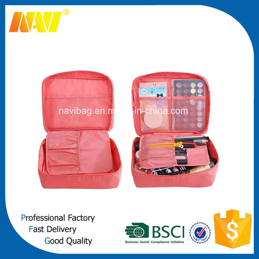 Nylon Cosmetic Bag Inserts Organizer