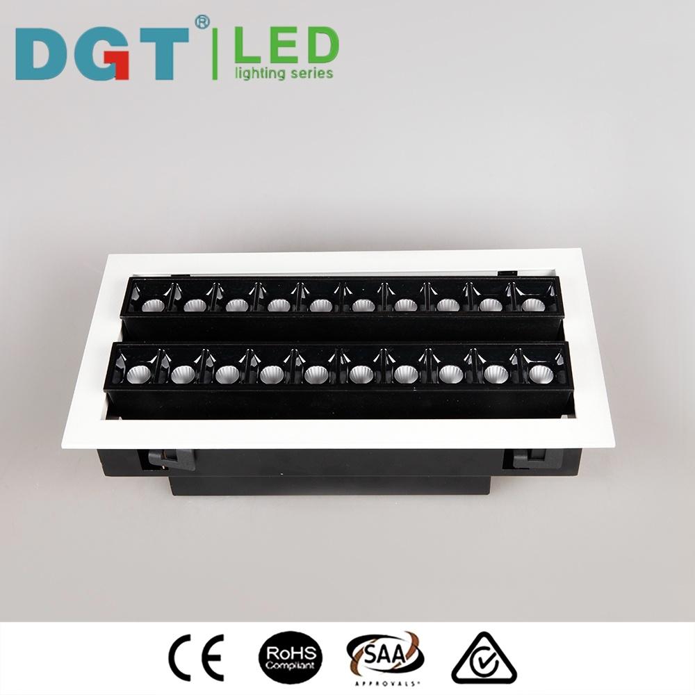 Energy Saving 2*10*2W LED Ceiling Slim Linear Downlight