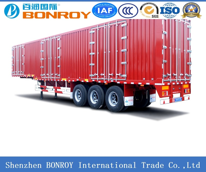 High Quality 3axle Van/Box Semi Trailer