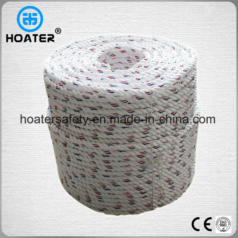 High Strength Multifunctional Twisted/Braided Polyester Rope for Sale