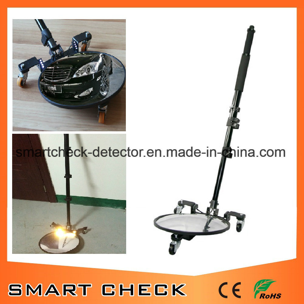 Round Convex Mirror Under Vehicle Search Mirror Vehicle Inspection Mirror Telescoping Inspection Mirror