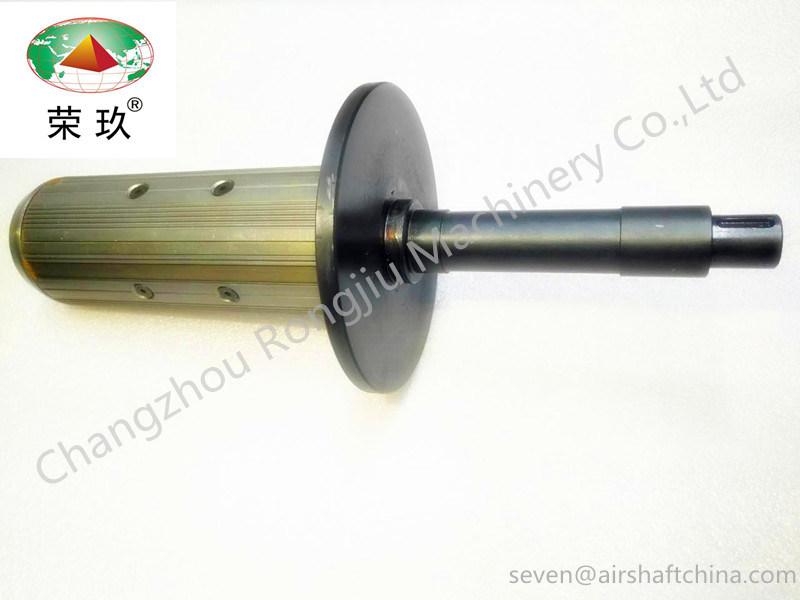 Flange Type Aluminum Air Shaft Used for Slitting/Cutting/Coating/Laminating Machine