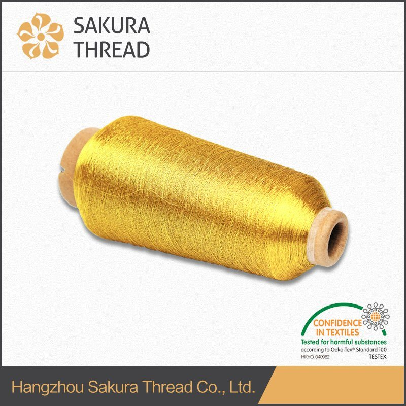 Ms Polyester/Rayon Metallic Thread for Embroidery