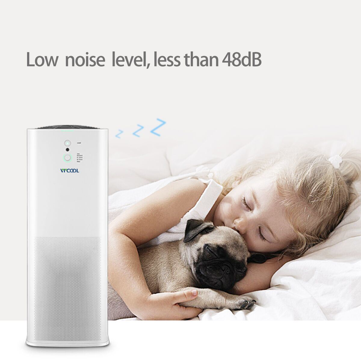 Home Air Purifier with APP