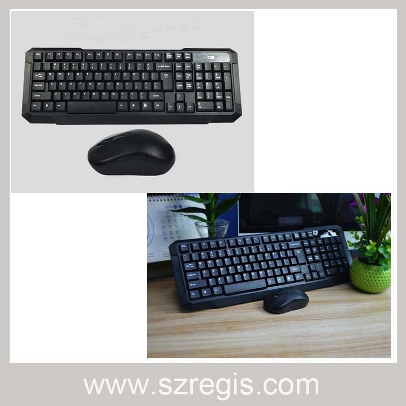 2.4G Wireless Office Games Keyboard and Mouse Set Computer Accessories