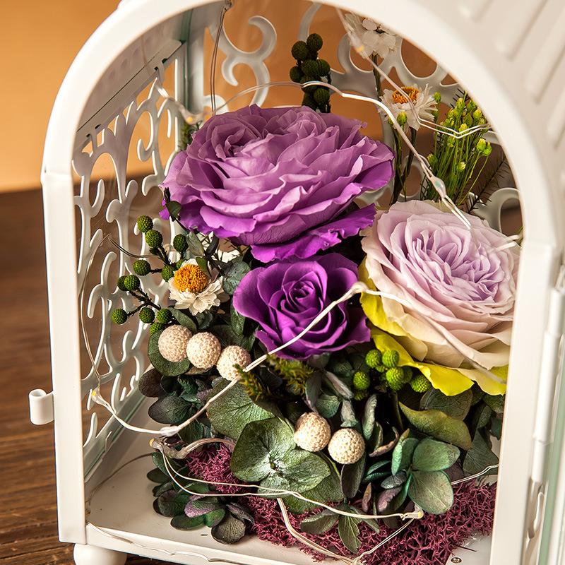 100% Natural Real Rose Flower Gift Box for Valentine Birthday Gift