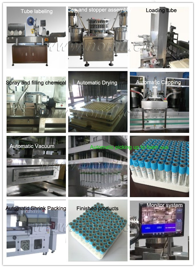 Medical Vacuum Blood Collection Tube Making Machine