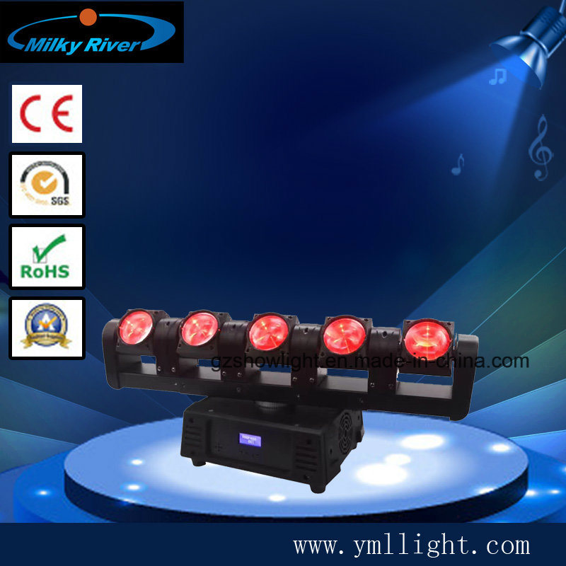 DMX DJ Spider Moving Head Light 6PCS 12W RGBW LED Wedding Move Light