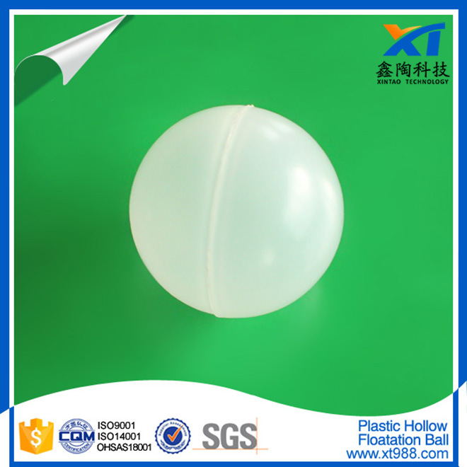 White PP Plastic Hollow Floatation Ball