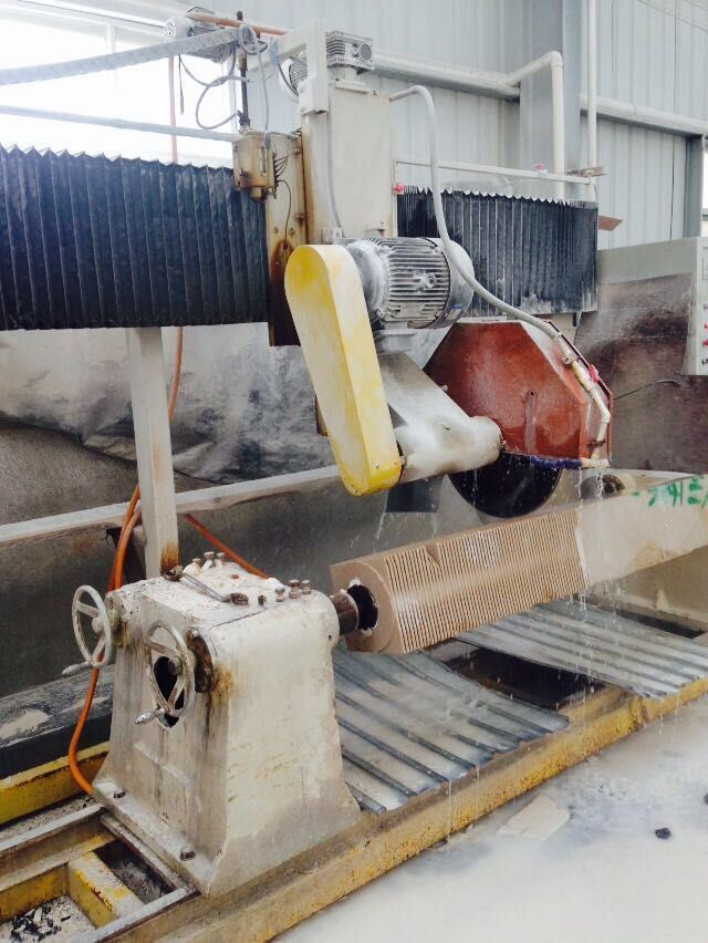 Drc-230/460-2 Stone Baluster Cutting Machine Granite / Marble Profile Machine