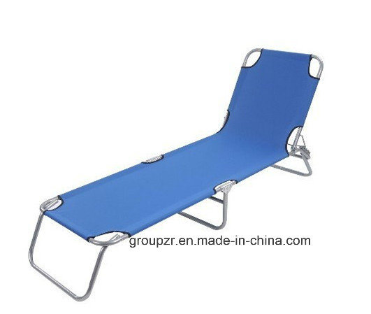 Adjustable Folding Beach Bed for Lounge, Camping