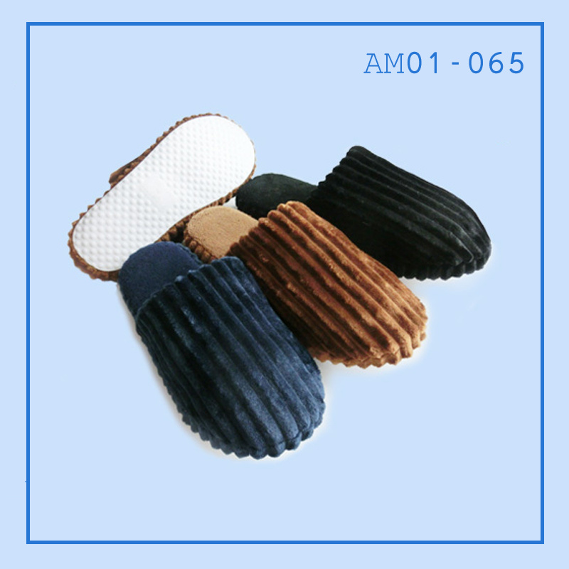 Men Indoor Slippers Shoes TPR in Winter