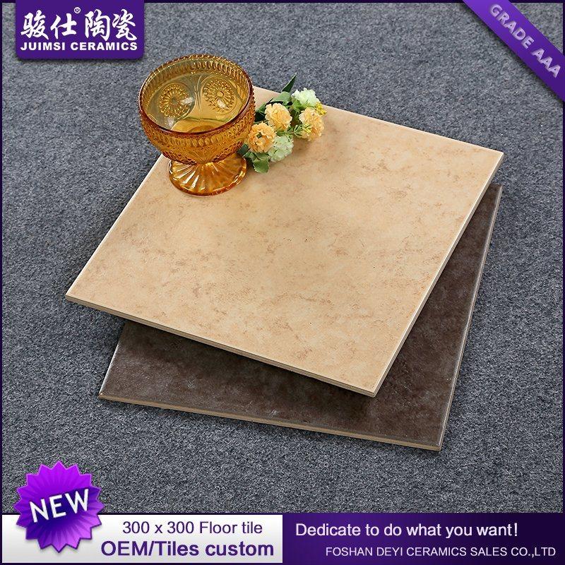 Foshan Juimsi 300 X 300mm Non-Slip Rustic Ceramic Floor Tiles