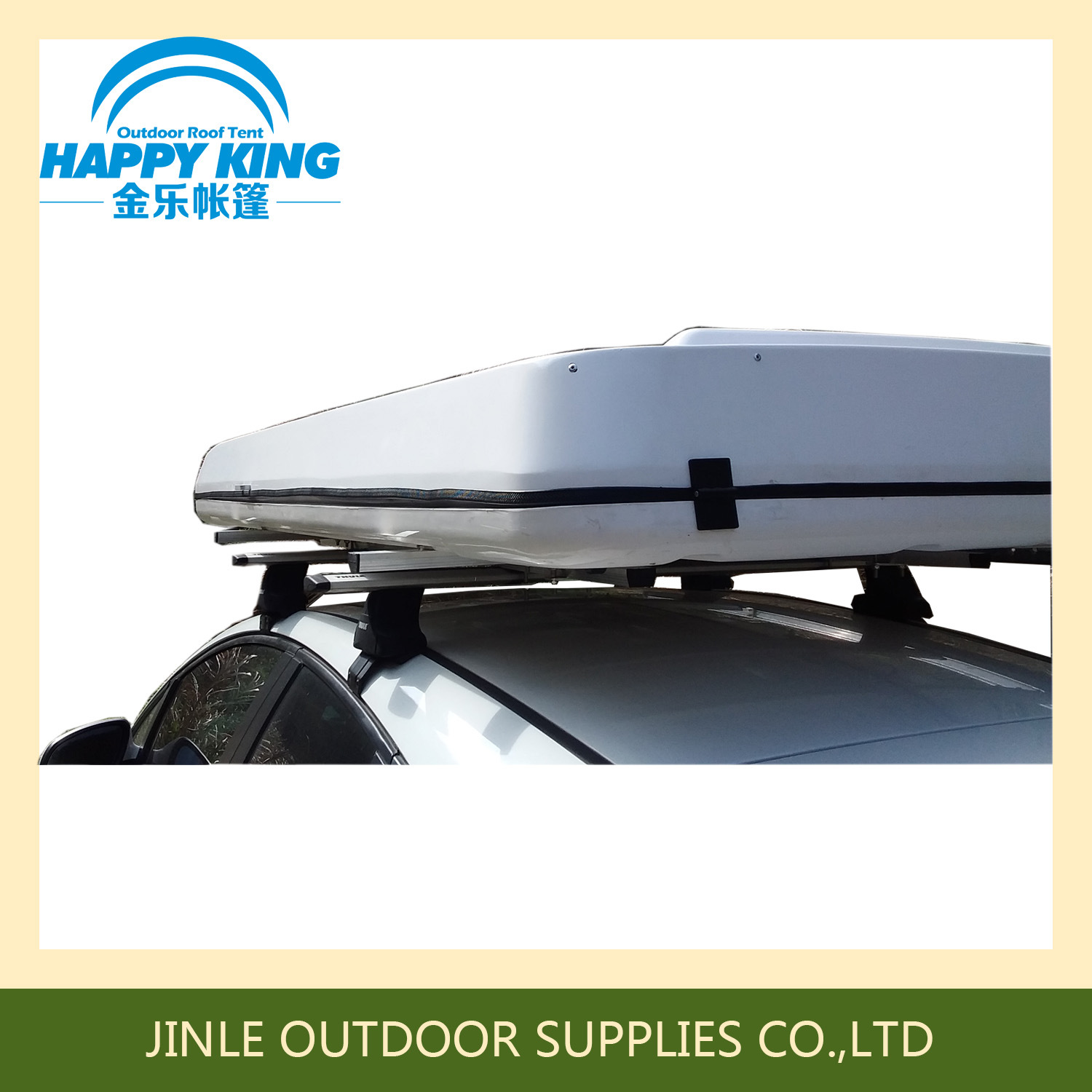 ABS Hard Shell Car Roof Top Tent