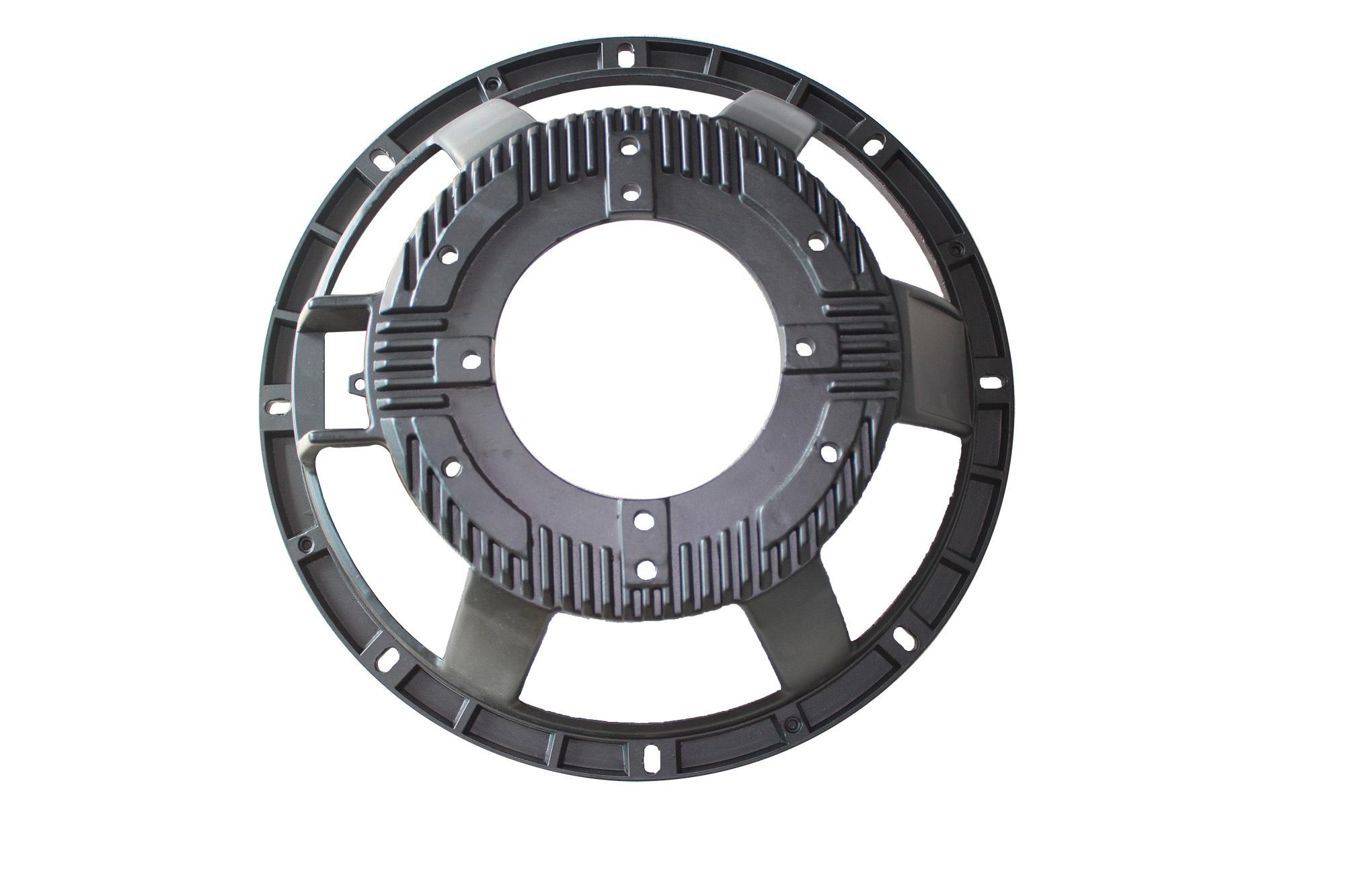 12inch Pressure Die Cast for Customised Aluminium Subwoofer Parts-PA Speaker Frame