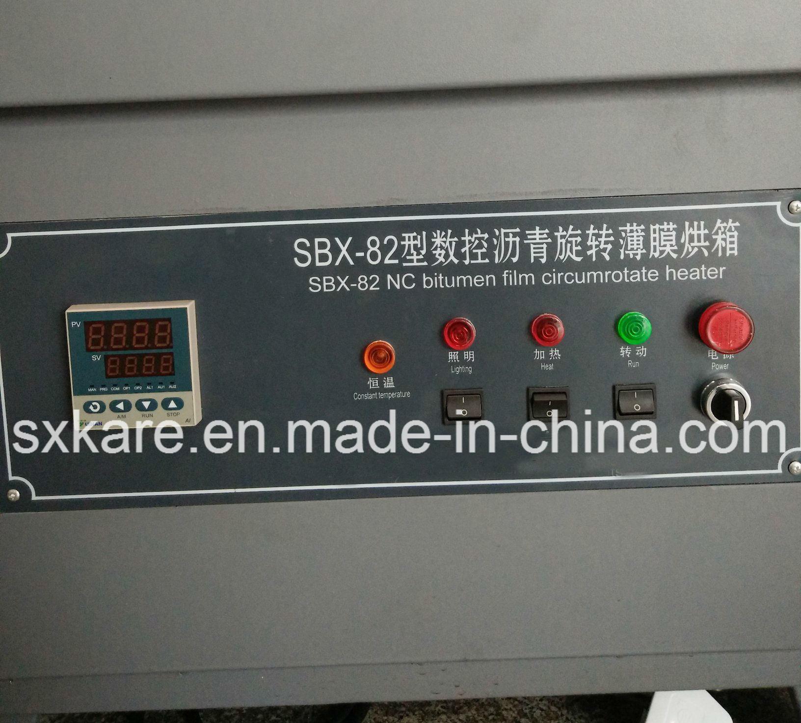 Thin Film Oven Test, Tfot (SBX-82)
