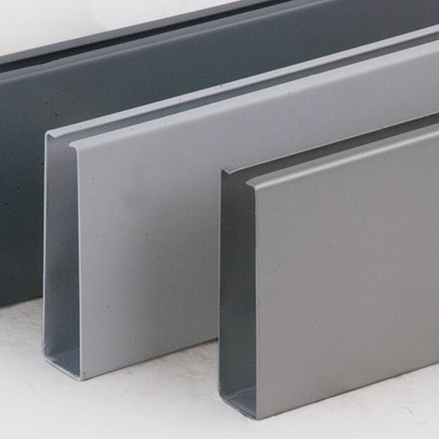 Aluminum Baffle False Ceiling with Fashion Design