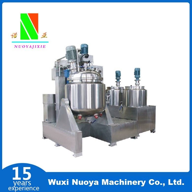 Vacuum Homogenizing Mixer and Emulsifier (ZJR350 ~ 500L)