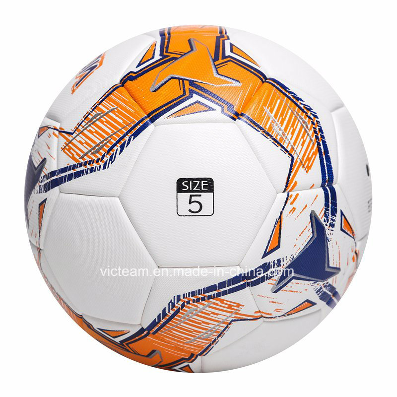 Standard Size 5 Orignal PU Leather Soccer Ball