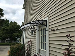 Polycarbonate /PC/DIY Awning for Doors and Windows /Sunshade