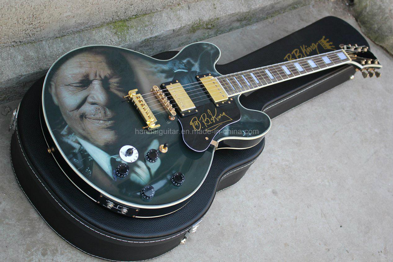 Hanhai Music/335 Electric Guitar (BBKING Head model commemorative)