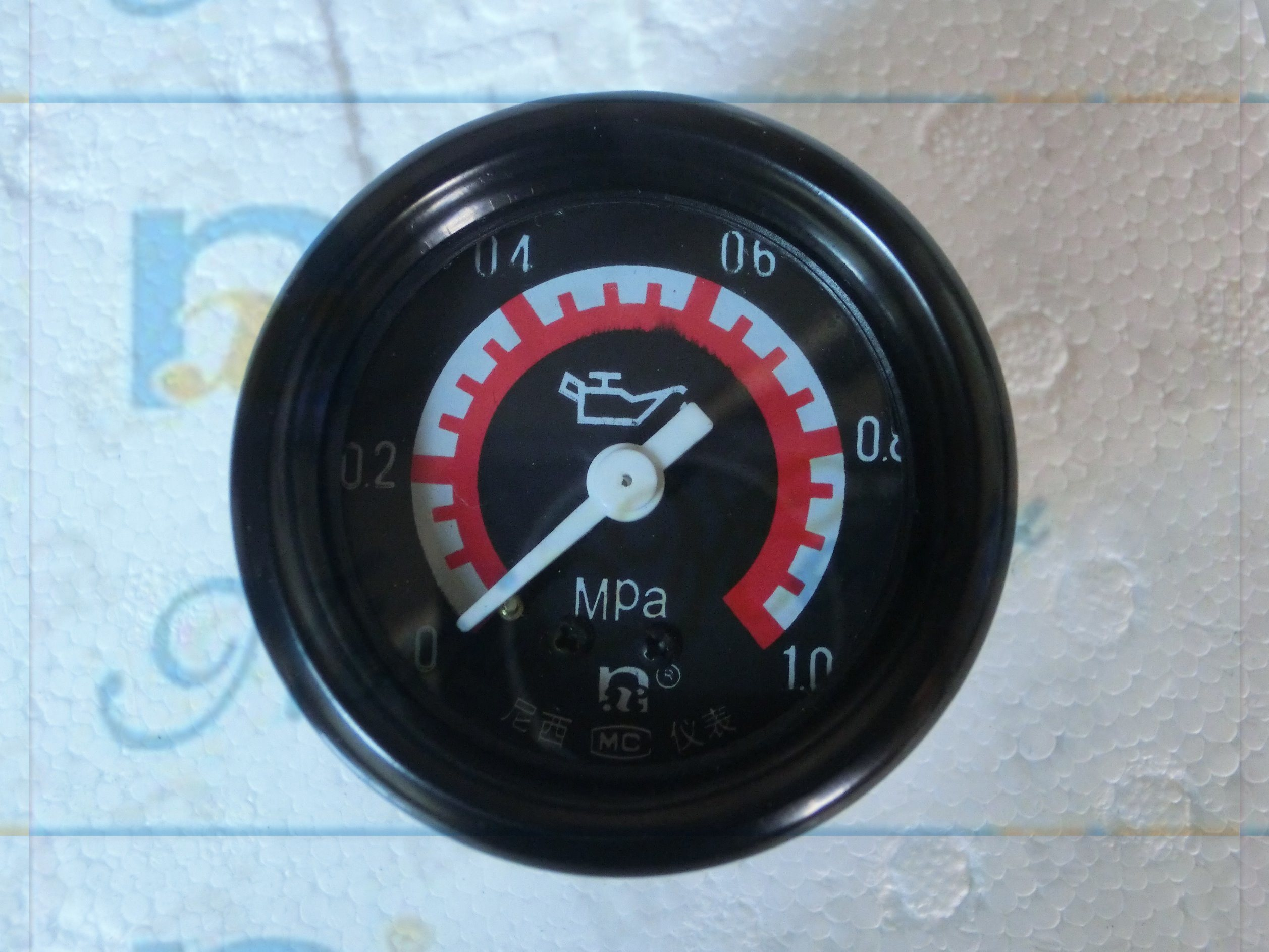 "2"" 52mm General Oil Pressure Gauge with Movement"
