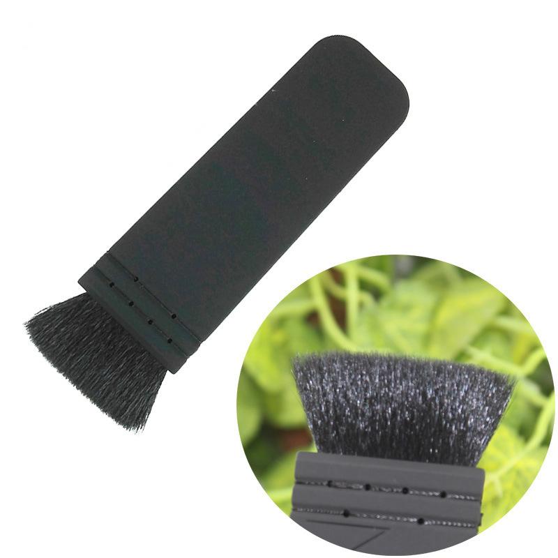 Black Goat Hair Flat Contour Blusher Cosmetic Makeup Beauty Brush