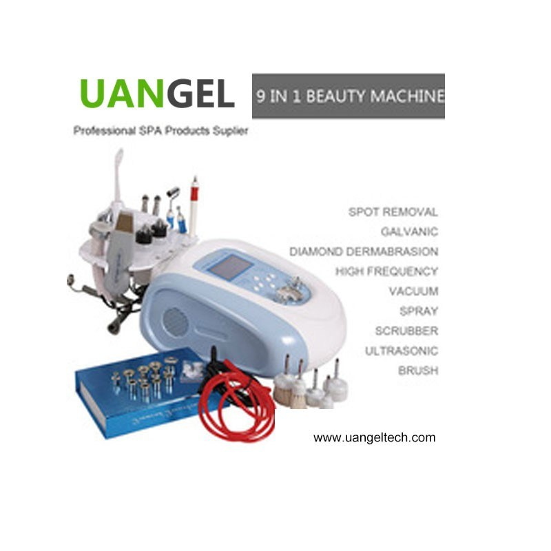 9 in 1 Diamond Microdermabrasion Beauty Salon Machine