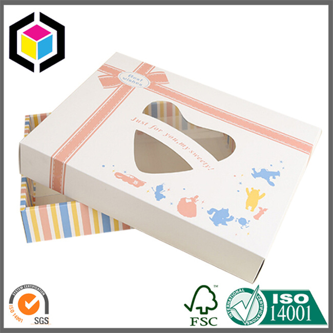Tuck Ends Clear Plastic Window Cardboard Paper Packing Box