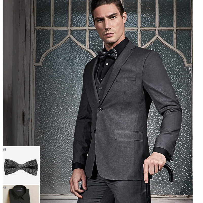 Top Quality Business Suit Custom Made Suit with Cmt Price
