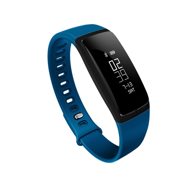 Waterproof TPU Bluetooth 4.0 Sleep Monitoring Smart Bracelet for Android iPhone