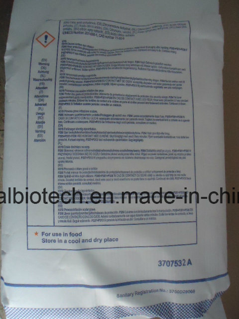 Food Additive/30-100mesh Food Grade Citric Acid Anhydrous