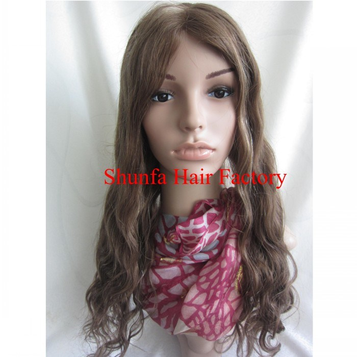 Lace Front Remy Hair Wig 8