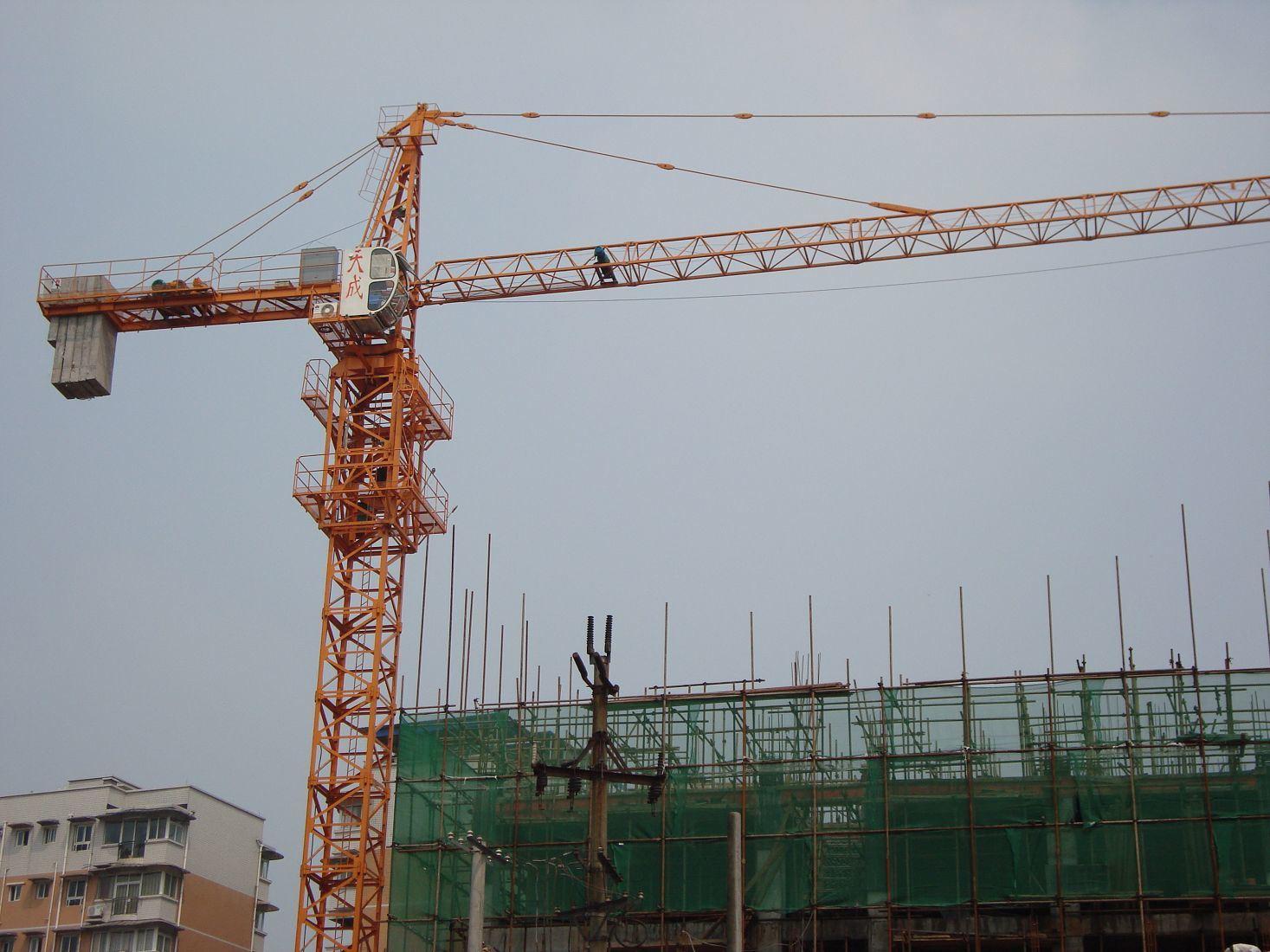 Tower Crane Productivity : China tower crane qtz ii