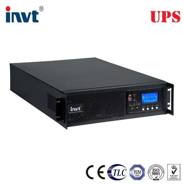 Pure Sine Wave 6kVA 10kVA 19 Inch Rack Online UPS