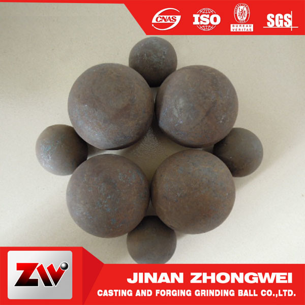 High Quality Forged Grinding Balls for Mining Cements Plants