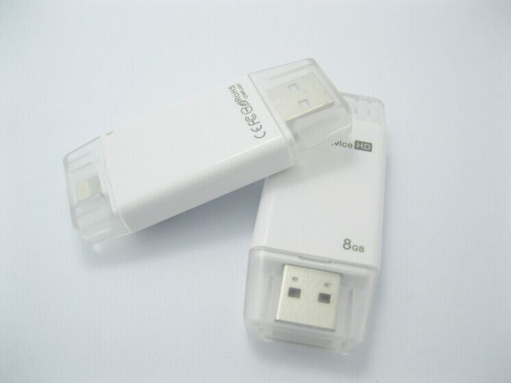 Universal I-Flashdrive HD OTG USB for iPhone 6 Plus 5 5s iPad Air Table (OM-P810)
