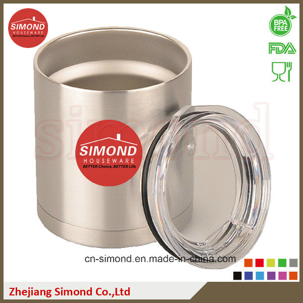 12oz Stainless Steel Vacuum Lowball, Can Cooler