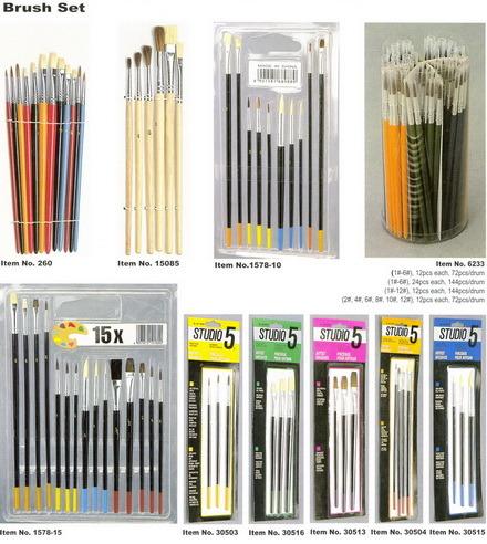 Artist Brush (ARTIST PAINT BRUSH SET)