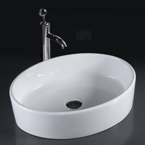 Porcelain Bathroom Vessel Sink & Basin (6084)