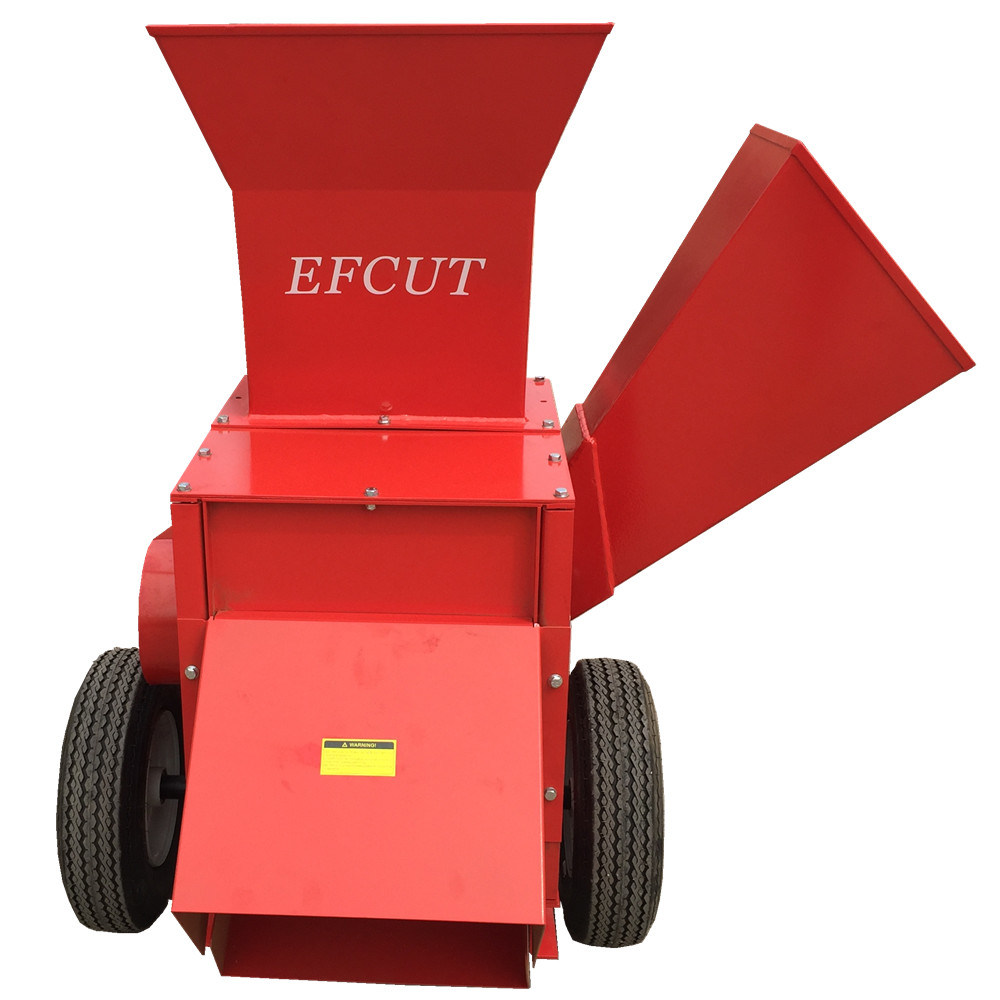 High Performance of Wood Chipper and Coconut Shell Cutting Machine