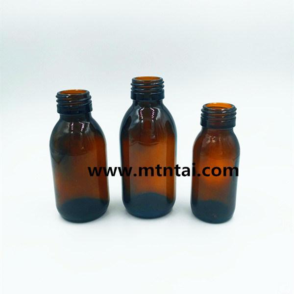 60ml Amber Color Oral Liquid Bottles