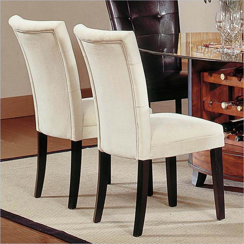 Fabric to cover dining room chairs chair pads cushions for Fabric dining room chairs