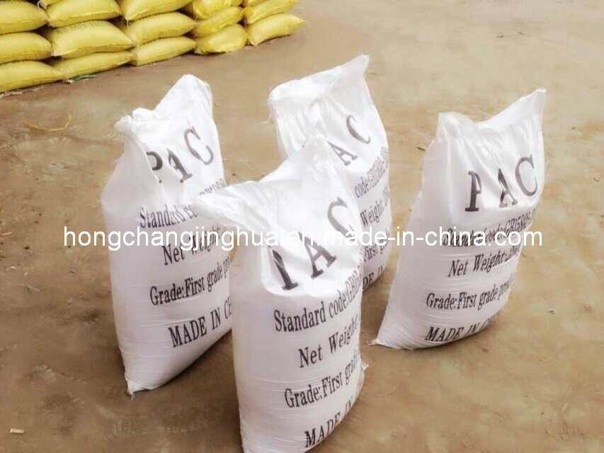30% Polyaluminium Chloride PAC Water Treatment Flocculant