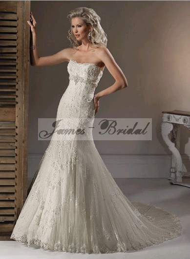 2011 Wedding Dress SW0020