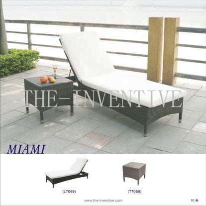 China garden sun lounge miami china patio furniture for Outdoor furniture miami